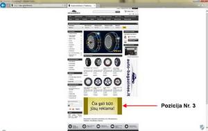 Reklama svetainėje